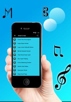 Lagu Ebiet G Ade Terlengkap apk screenshot