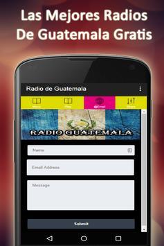 Radios Of Guatemala Free apk screenshot