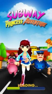 Subway Princess Adventure - Endless Run poster