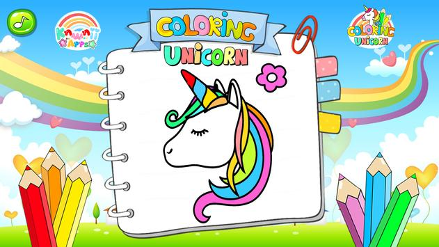 Unicornio lindo para colorear for Android - APK Download
