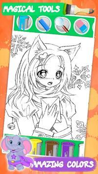 Kawaii coloring book screenshot 1