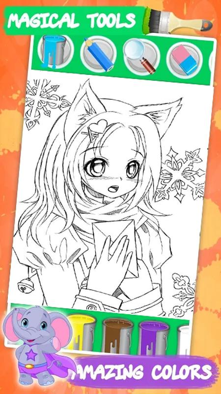 Kawaii Coloring Book For Android Apk Download