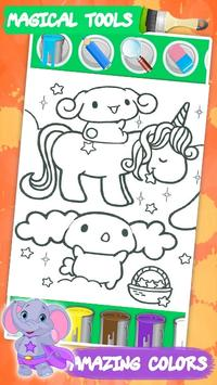 Kawaii coloring book screenshot 2