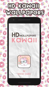HD Kawaii Wallpapers poster