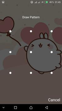 Kawaii  cute password Lock Screen screenshot 11