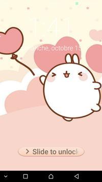Kawaii  cute password Lock Screen screenshot 3