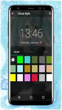 Hatsune Miku Pattern Lockscreen and Wallpaper screenshot 3