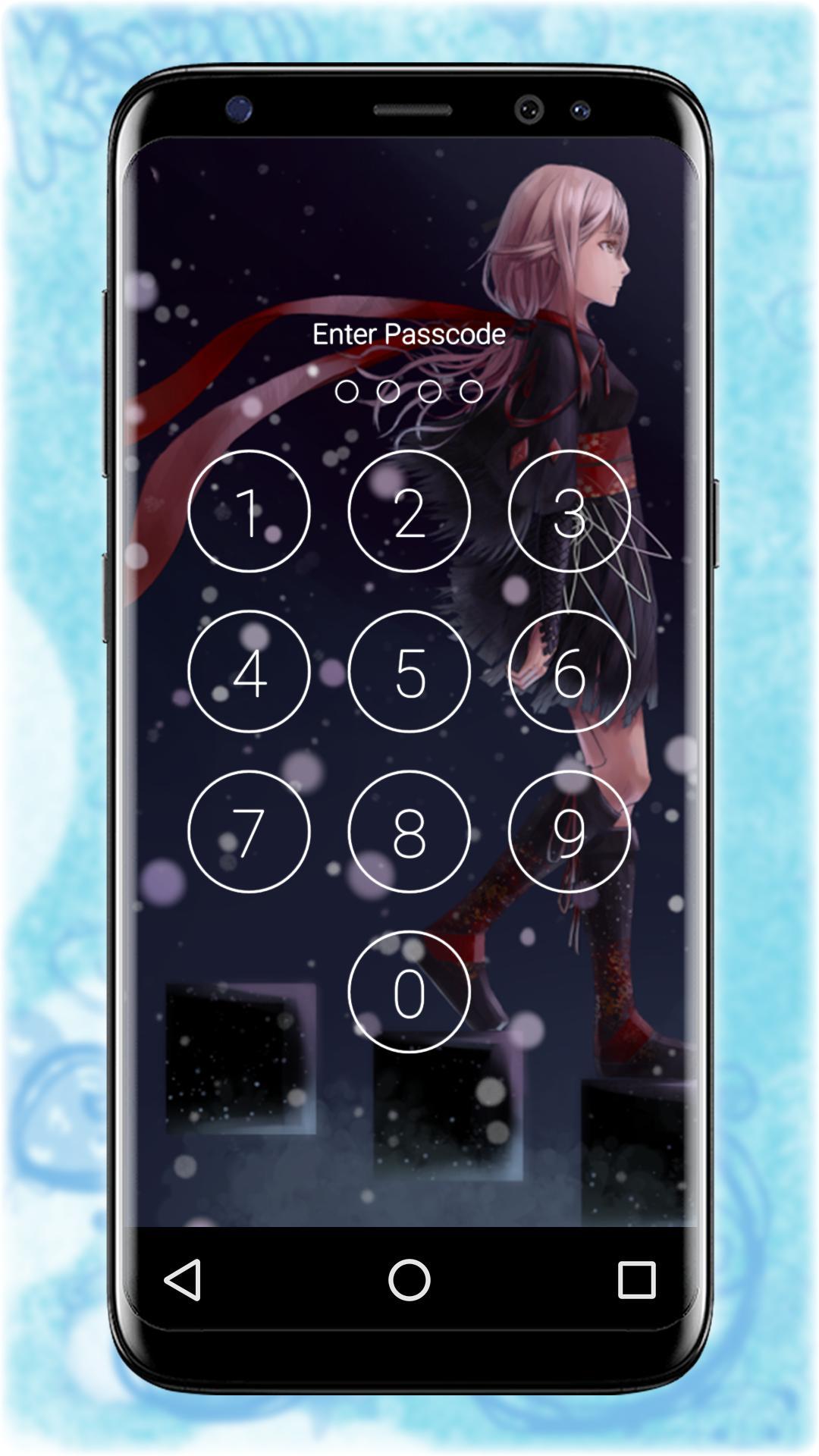 Inori Egoist Inorin Yuzuriha Lock Wallpaper For Android Apk