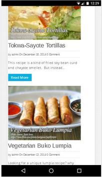 Kawaling Pinoy Tasty Recipes apk screenshot