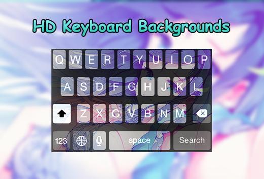 Kawaii Anime Keyboard Apk Screenshot