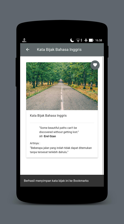 Kumpulan Kata Bijak Bahasa Inggris Artinya Für Android