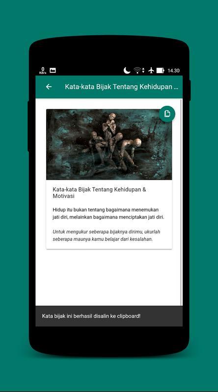 Kata Bijak Tentang Kehidupan Semangat Offline Fur Android Apk