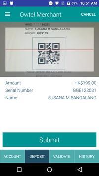 OWTEL Merchant apk screenshot