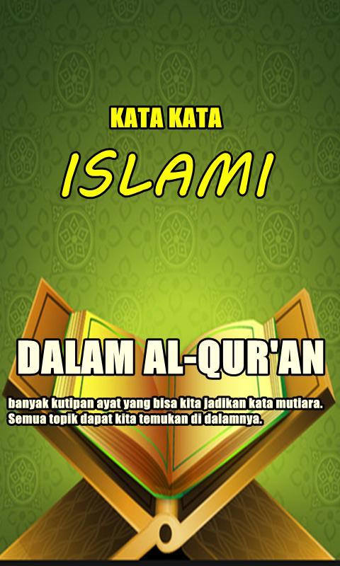 Kata Bijak Islami Dalam Alquran Lengkap Für Android Apk