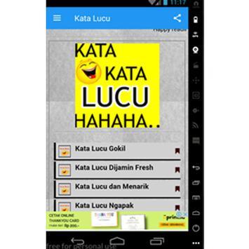 Kata dan Gambar Lucu screenshot 2