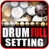 Real Drum Full Setting icon