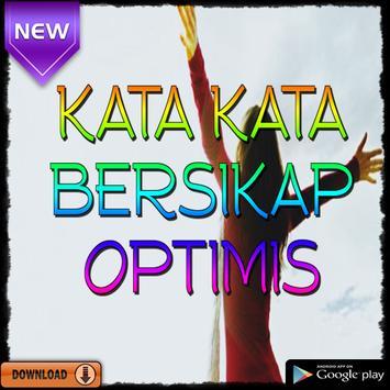 Kata Kata Bersikap Optimis poster