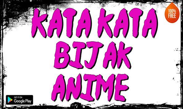 kata kata bIjak anime screenshot 2