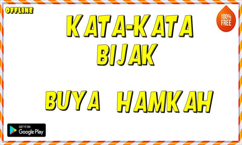 Kata Kata Bijak Buya Hamka For Android Apk Download