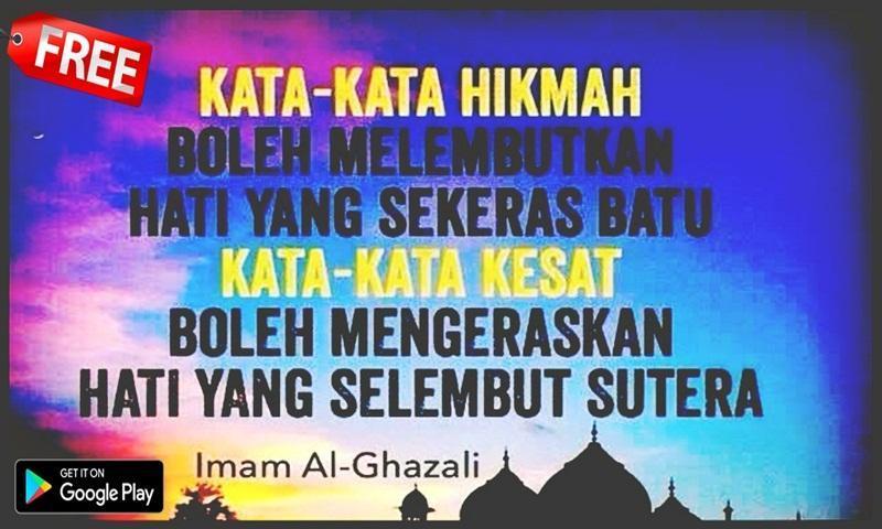 Kata Kata Bijak Imam Al Ghazali For Android Apk Download