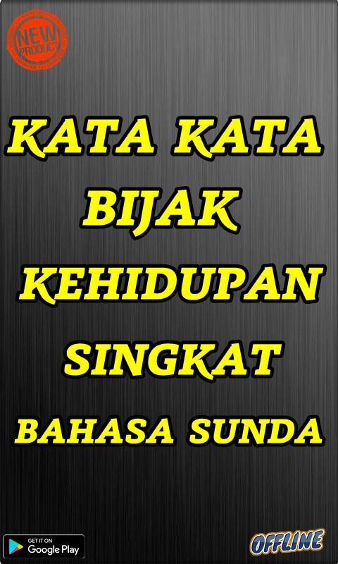 Kata Kata Bijak Kehidupan Singkat Bahasa Sunda Screenshot