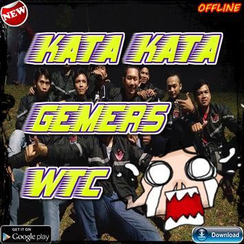 kata kata gamers poster
