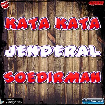 Kata Kata Jenderal Soedirman poster