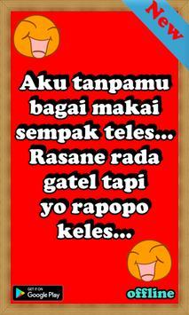Kata Kata Lucu Bahasa Jawa для андроид скачать Apk
