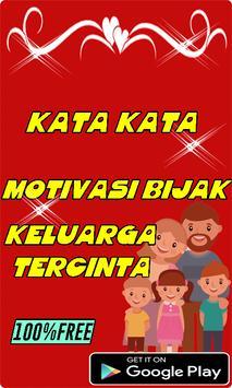 Kata Kata Motivasi Bijak Keluarga Tercinta poster