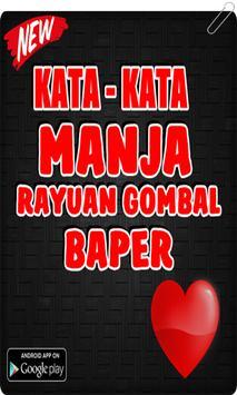 Kata Kata Manja & Rayuan Maut Baper poster