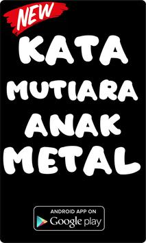 Kata Kata Anak Black Metal poster