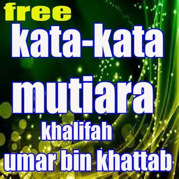 kata-kata mutiara khalifah umar bin khattab poster