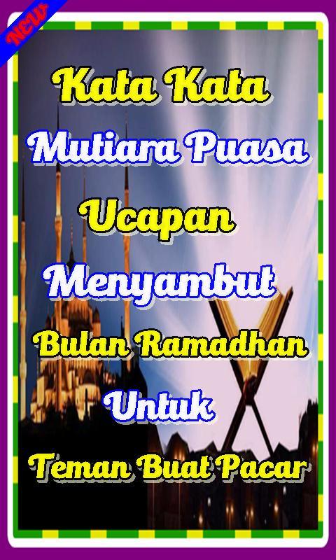 Kata Mutiara Ucapan Bulan Suci Ramadhan Buat Pacar For Android