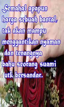 Kata Kata Mutiara Romantis Islami Suami Istri Screenshot