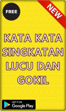 Kumpulan Kata Kata Singkatan Lucu & Gokil Terbaru poster