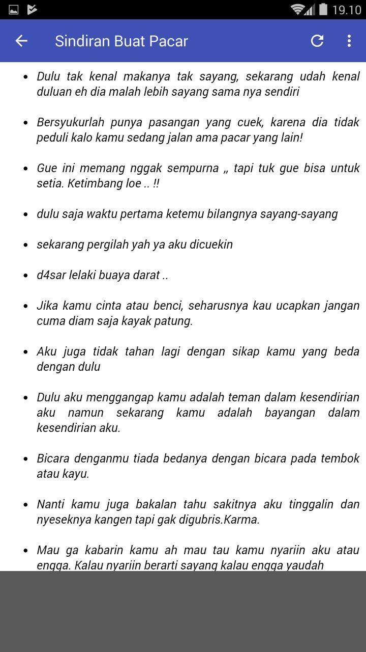 Kata Kata Sindiran Super Sadis For Android Apk Download