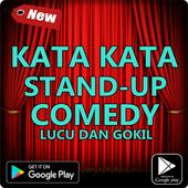 Kata Kata Stand Up Comedy Lucu Terbaru icon