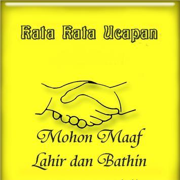 Kata Kata Ucapan Lebaran poster