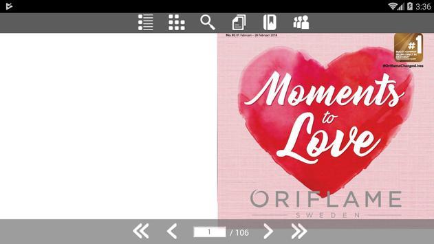 Oriflame Katalog poster