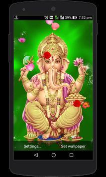 Lord Ganesh Live Wallpaper screenshot 3