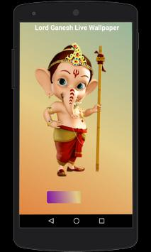 Lord Ganesh Live Wallpaper poster
