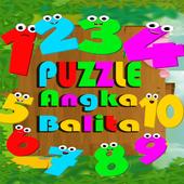 Puzzle Angka Balita icon