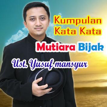 Kumpulan Kata Mutiara Bijak Ust. Yusuf Mansyur poster