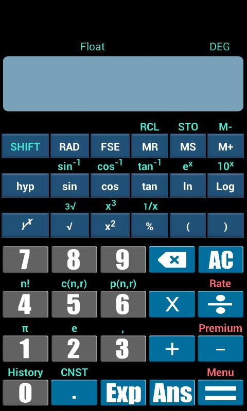 Scientific Calculator V3 APK Download - Free Tools APP for Android ...