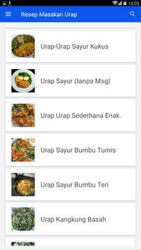 Resep Masakan Urap screenshot 1