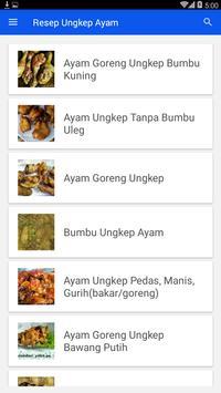 Resep Ungkep Ayam screenshot 1