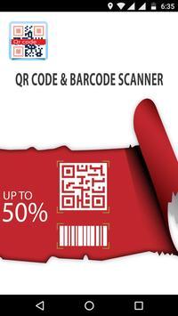 QR Code & Barcode Scanner captura de pantalla 1