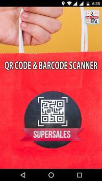 QR Code & Barcode Scanner captura de pantalla 3