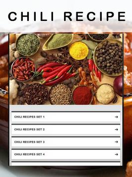 Chili recipes apk screenshot