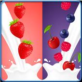 how to make milkshakes icon